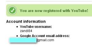 mendaftar di youtube